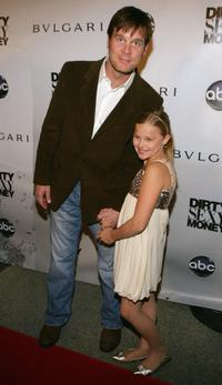 Peter Krause and Elle Fanning at the premiere of