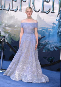 Elle Fanning at the World premiere of