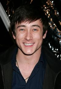 Alex Frost at the premiere of