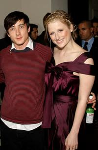 Alex Frost and Mamie Gummer at the after party of the screening of