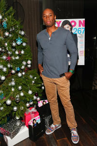 Robbie Jones at the Celebration of NYLON's December/January Cover Star Lucy Hale in California.