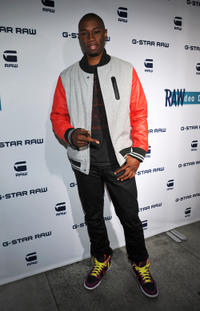Robbie Jones at the G-Star Rodeo Drive Store Opening in California.