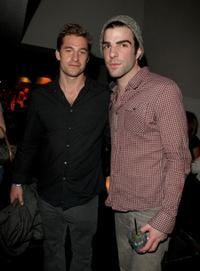 Scott Speedman and Zachary Quinto at the Global Green USA's 6th Annual pre-Oscar party.