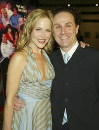 Julie Benz and John Kassir at the screening of
