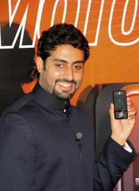 Abhishek Bachchan at the launch of new Motorola