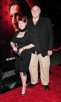 Audrey Wasilewski and Guest at the premiere of