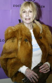 Sally Kellerman at the launch concert for the 2004 Rock For Choice Year of Concerts.