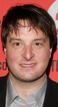 Christopher Evan Welch at the afterparty of the Second Stage Theatre opening night of