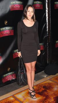 Zelda Williams at the David LaChapelle's Remy Martin V.S.O.P. Bottle Unveiling.
