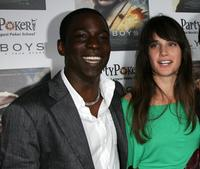 Abdul Salis and Jennifer Decker at the special screening of