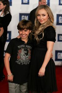 Hayden Panettiere and Jansen Panettiere at the 6th Annual General Motors TEN event.