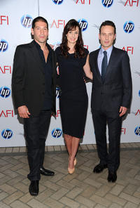 Jon Bernthal, Sarah Wayne Callies and Andrew Lincoln at the Eleventh Annual AFI Awards.