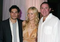 D.J. Cotrona, Olivia Wilde and Sandy Grushow at the premiere of