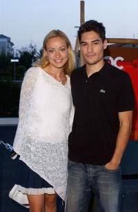 Olivia Wilde and D.J. Cotrona at the
