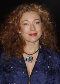 Alex Kingston at the UK premiere of