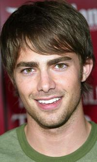 Jonathan Bennett at the grand opening of The Twilight Zone Tower of Power ride.