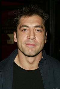 """Javier Bardem at the premiere of """"Troy"""" in New York City."""