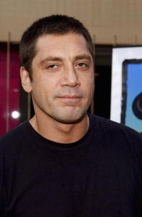 """Javier Bardem at the premiere of """"Mondays in the Sun"""" in Hollywood."""