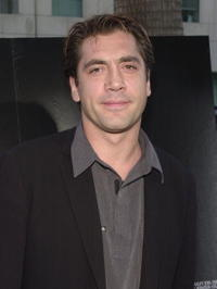"""Javier Bardem at a screening of """"A.I."""" in Beverly Hills, CA."""