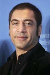 """Javier Bardem at a photocall to promote the movie """"Invisibles"""" in Berlin, Germany."""