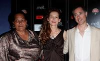 Sandra Laing, Alice Krige and Anthony Fabian at the UK premiere of