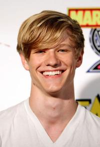 Lucas Till at the IESB.net's Wrath of Con during the Comic-Con 2009.