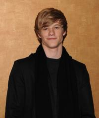 Lucas Till at the screening of