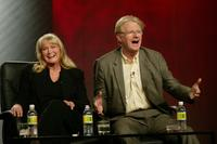 Diane Ladd and Ed Begley Jr. at the ABC 2004 Winter Press Tour.