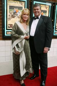 Diane Ladd arrives with companion at the Nashville Film Festival.