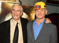Martin Landau and Bill Murray at the premiere of