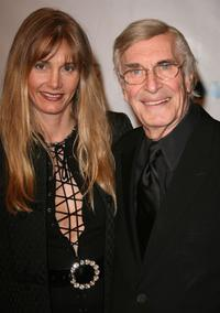 Martin Landau and Guest at the 17th Annual Night of 100 Stars Oscar Gala.