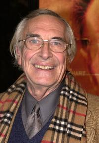 Martin Landau at the premiere of