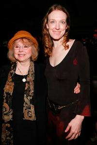 Piper Laurie and Director Deborah Kampmeier at the after party of the premiere of