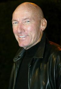Ed Lauter at the opening of Jeff Bridges Photography Exhibition.