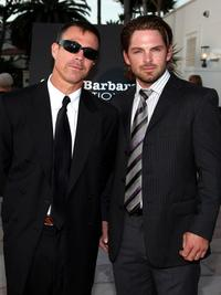 Ash Adams and Brian Presley at the SBIFF's 3rd Annual Kirk Douglas Award For Excellence in Film.