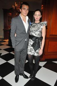 Rupert Friend and Emily Blunt at the after party of the California premiere of