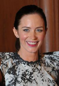 Emily Blunt at the California premiere of