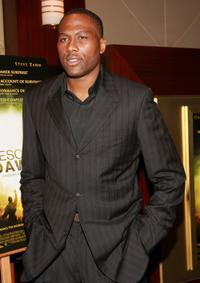 Elton Brand at the premiere of