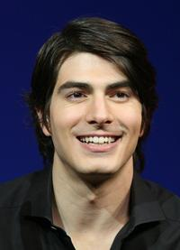Brandon Routh at the news conference of