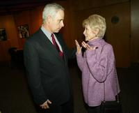 Janet Leigh and Christopher Guest for Film Premiere of