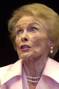 Janet Leigh at a book signing of her new book, The Dream Factory.