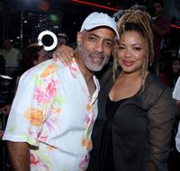 Michael Ganet and Kasi Lemmons at the screening of