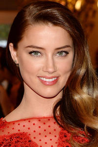 Amber Heard at the Costume Institute Gala for the 'PUNK: Chaos to Couture' exhibition at the Metropolitan Museum of Art in N.Y.