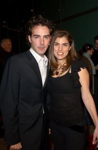 Shawn Levy and wife Serena at the Hollywood premiere of