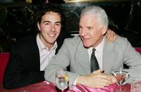 Shawn Levy and Steve Martin at the after party of the premiere of