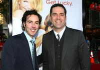 Shawn Levy and Michael Aguilar at the premiere of