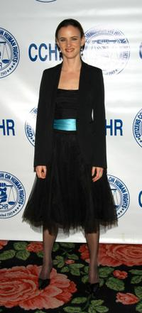 Juliette Lewis at the Citizens Commission on Human Rights banquet.