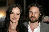 Juliette Lewis and Martin Henderson at the after party following the premiere of