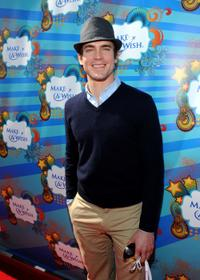 Matthew Bomer at the Make A Wish Foundation event.