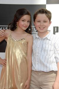 Ariel Winter and Nicholas Elia at the premiere of
